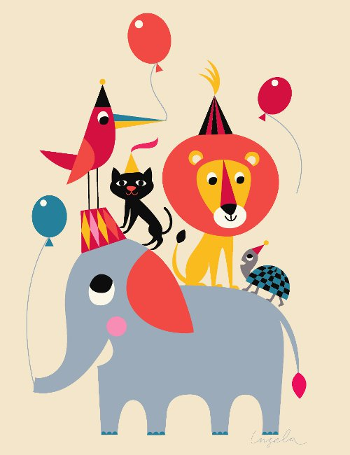 Animal Party Poster