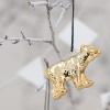 Gold Porcelain Bear