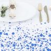 Blue Splash Tablecloth