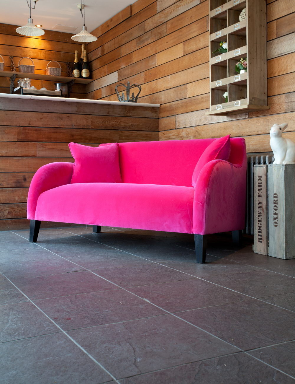 Snug Velvet Sofa At Rose Grey Furniture