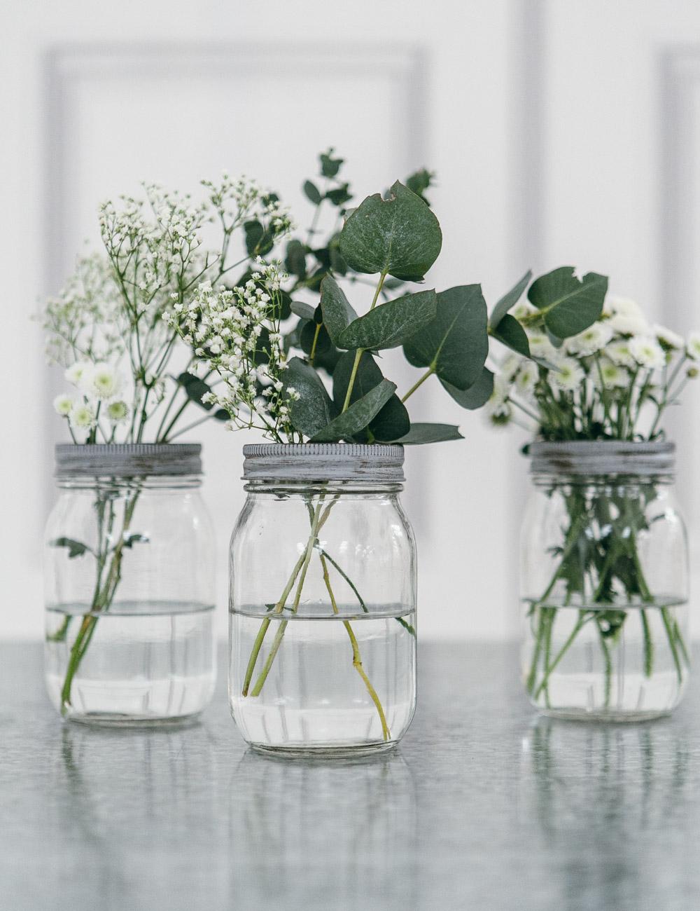 Wild Flower Jam Jar