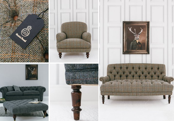 We Are Thrilled To Announce The Arrival Of Our Brand New Harris Tweed  Furniture Collection. Teaming Up With A Great Company Based Locally To Us  In The North ...