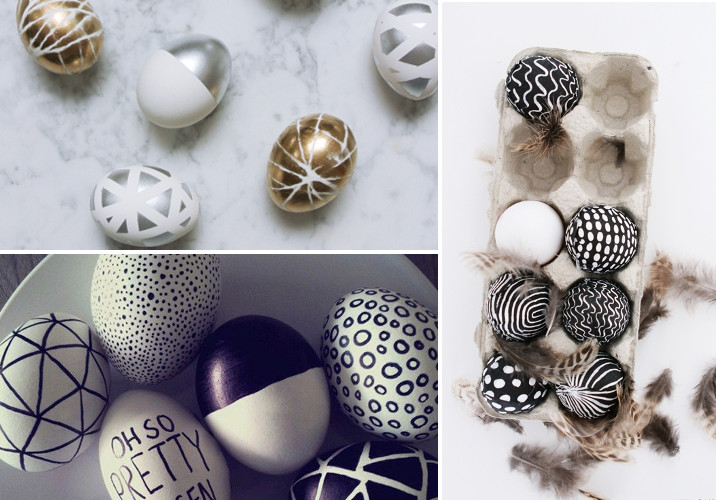 How To Make Decorative Eggs For Easter Rose And Grey