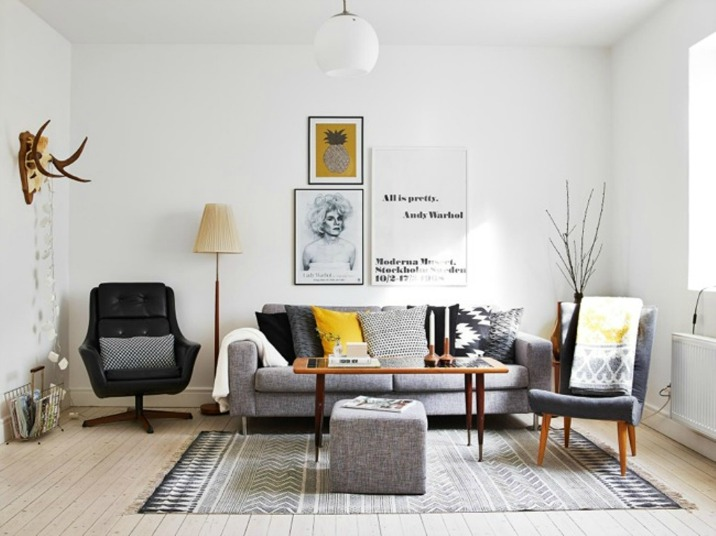 How to add a personal touch to your home for Sofa skandinavisches design