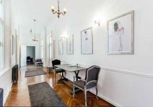 budapest apartment hallway