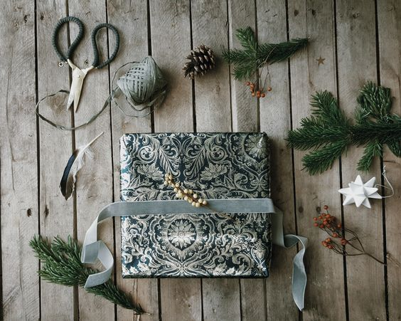 Stylish wrapping paper