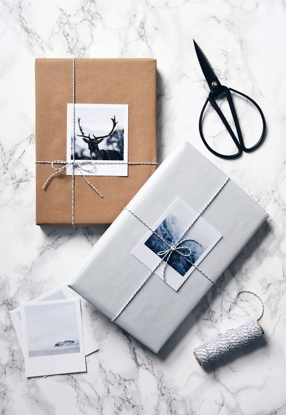 Designer gift wrapping