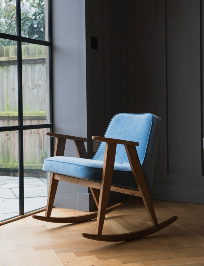 Jozef Chierowski 366 Rocking Chair Velvet - eight colours available 6