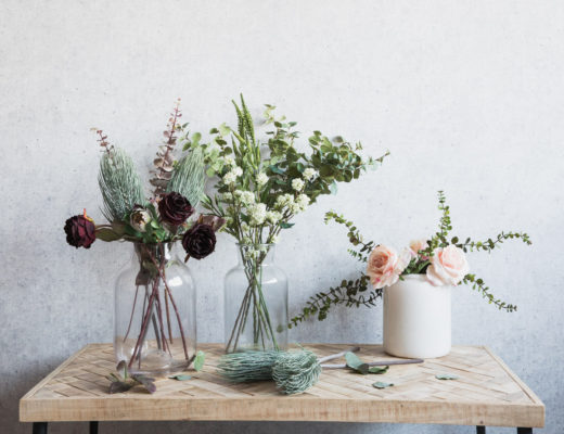 How to Style Faux Flowers