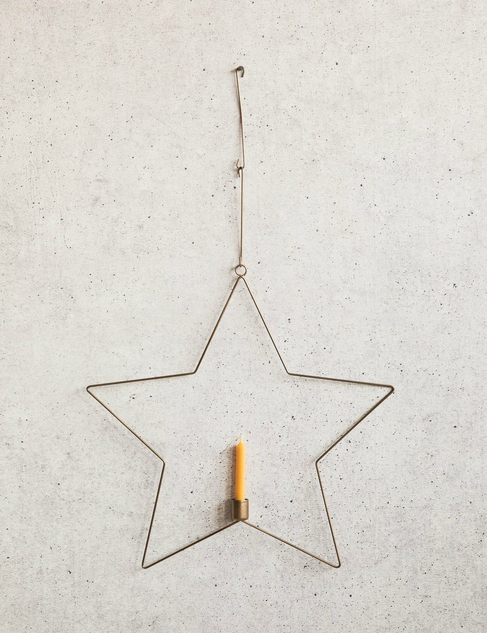 Hanging Wire Star