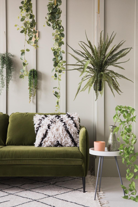 Broughton Green Velvet Sofa