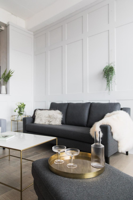 Heywood Grey Wool Sofa