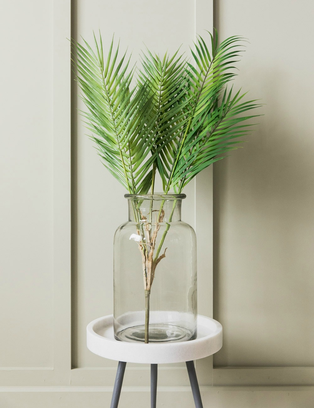 Faux Bush Palm Plant