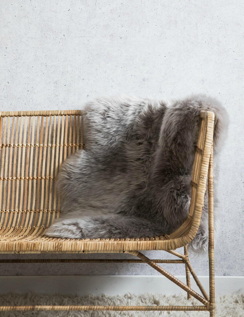 Australian Longhaired Sheepskin - Mushroom