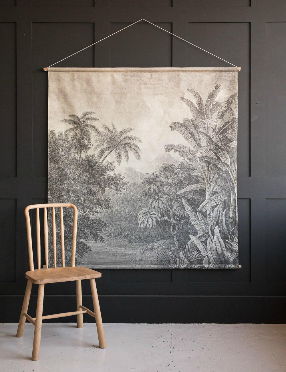 Extra Large Jungle Print Wall Chart