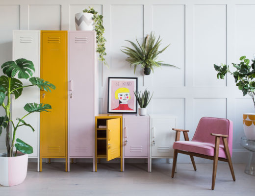 Mustard Made Storage Lockers at Rose & Grey