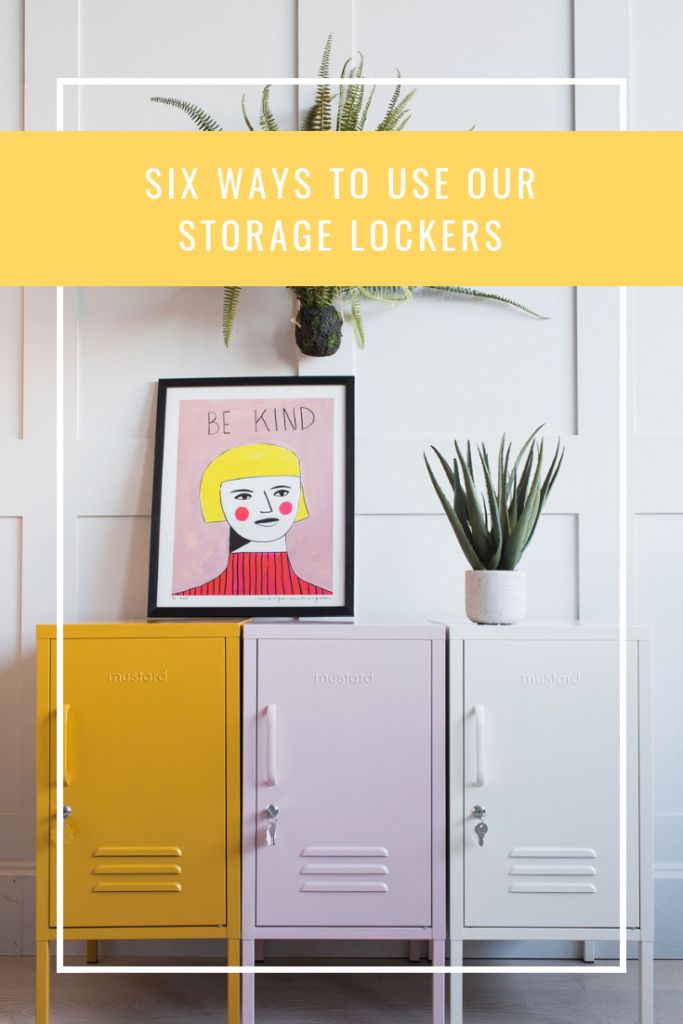 Six Ways to Use Our Storage Lockers
