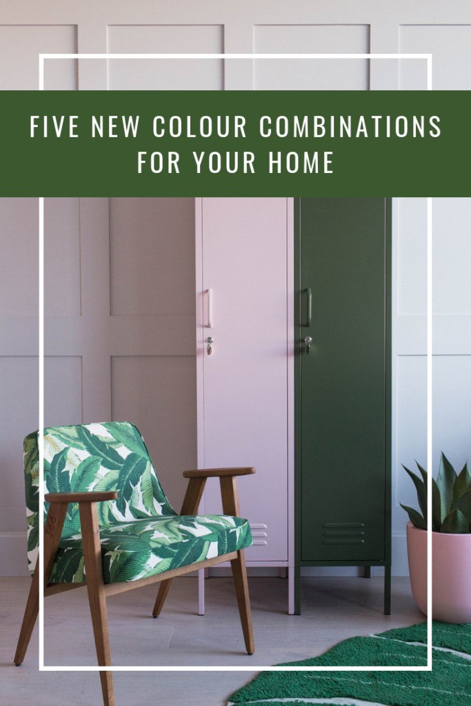 Five New Colour Combinations for your Home