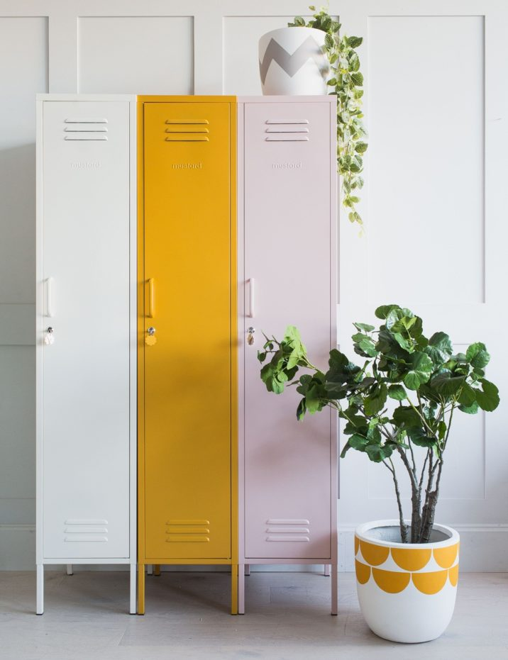 Pink and mustard interiors