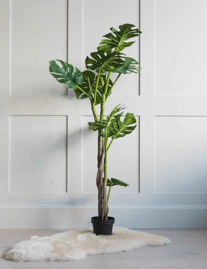 Abigail Ahern Faux Monstera Plant