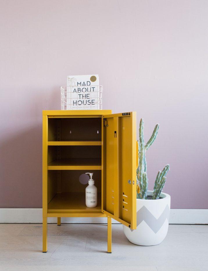 The Shorty Short Locker - Mustard Yellow