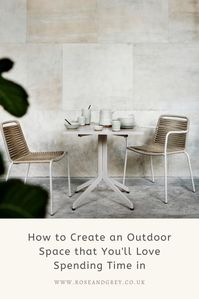 How to Create an Outdoor Space that You'll Love Spending Time in