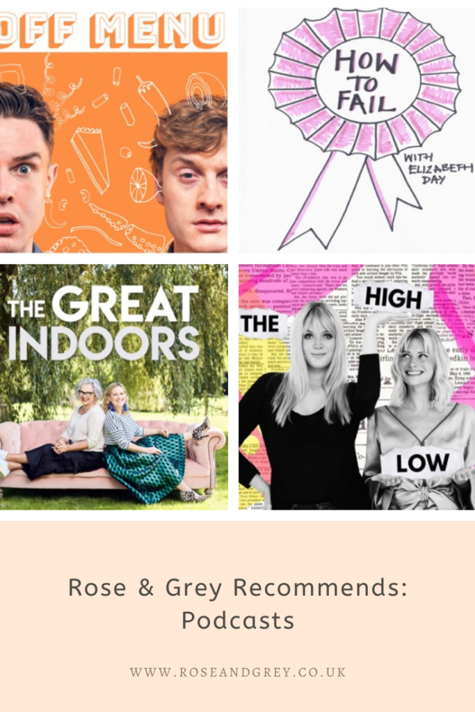 Rose & Grey Recommends: Podcasts
