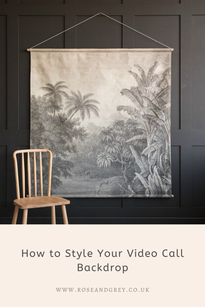 How to Style Your Video Call Backdrop
