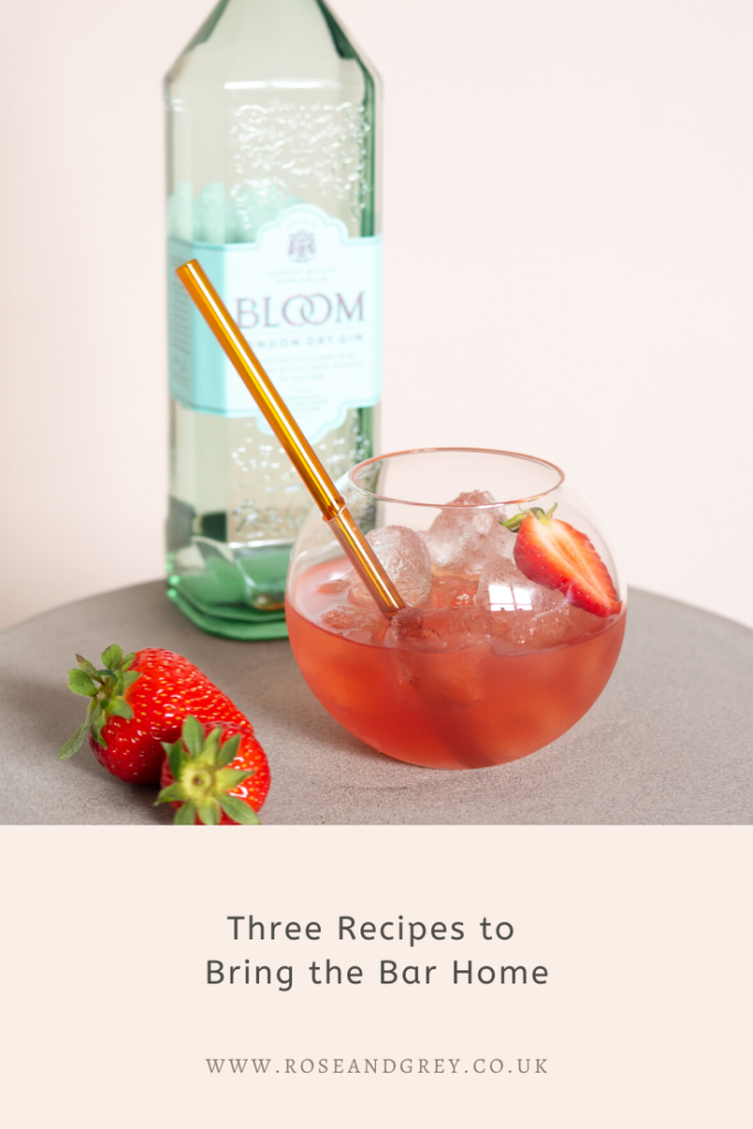 Three Recipes to Bring the Bar Home