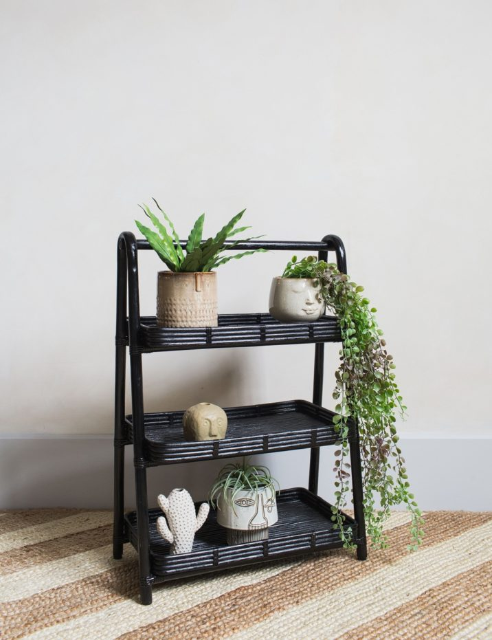 Rattan Storage Stand