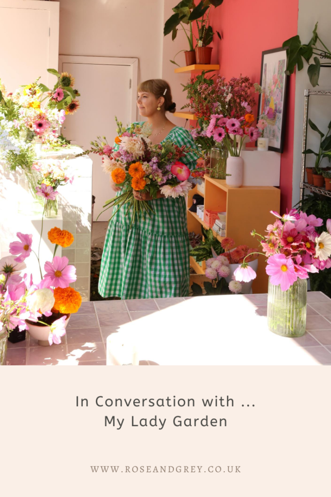 In Conversation with ... My Lady Garden   Rose & Grey