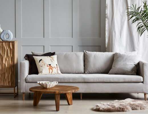 How to introduce a linen sofa to your home | Rose & Grey