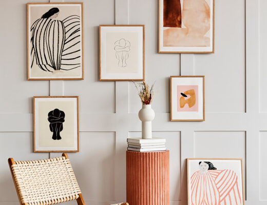How to Create a Gallery Wall in your Home | Rose & Grey